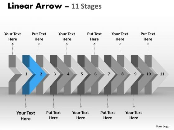 Ppt Background 3d Illustration Of Beeline Arrow Flow Diagram PowerPoint Slide Text Image