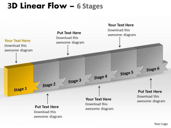 Ppt Background 3d Illustration Of Marketing Planning 6 Power Point Stage 2 Image