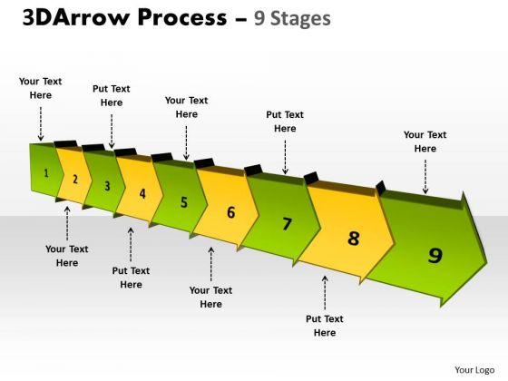 Ppt Background Continous Business Flow Process Swim Lane Diagram PowerPoint Template 1 Graphic