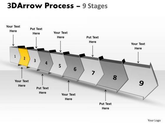 Ppt Background Continous Establishment PowerPoint Theme Flow Process Diagram 3 Graphic