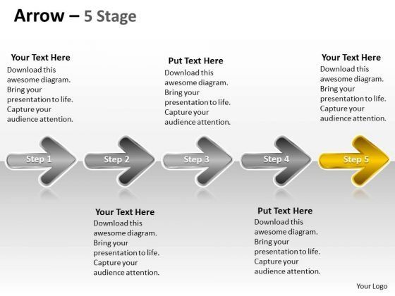 Ppt Background Evolution Of 5 Stages Marketing Plan Custom PowerPoint 6 Image