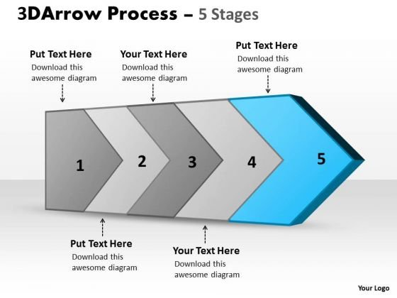 Ppt Background Five Stages Of Successful Free Enterprise PowerPoint Charts Plan 6 Image