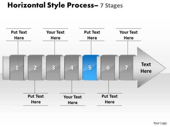 Ppt Background Linear Demonstration Of 7 Stages Method 6 Image