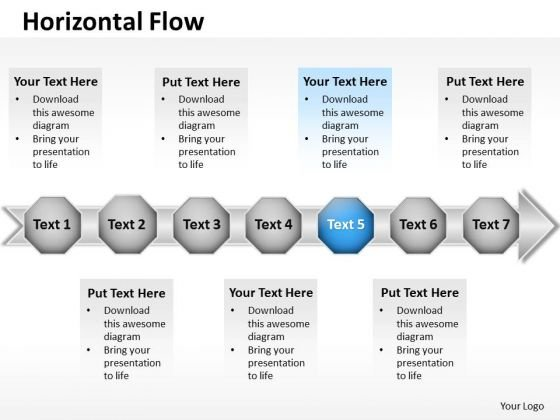 Ppt Blue Stage Business PowerPoint Templates Free Download Data Flow Diagram