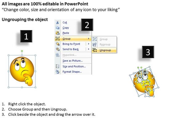 ppt_bored_emoticon_illustration_picture_business_management_business_powerpoint_templates_2