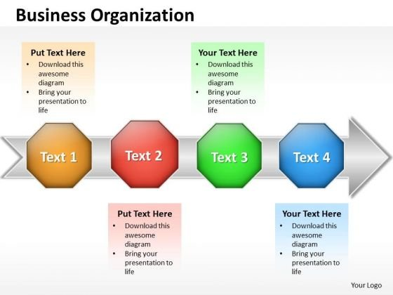 Ppt Business Download PowerPoint Layouts Organization Flow Chart ...