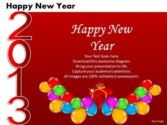 ppt cards and dices happy new year business plan business spowerpoint templates powerpoint templates