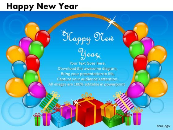 Ppt Cards And Dices Happy New Year Business Plan PowerPoint  Templates