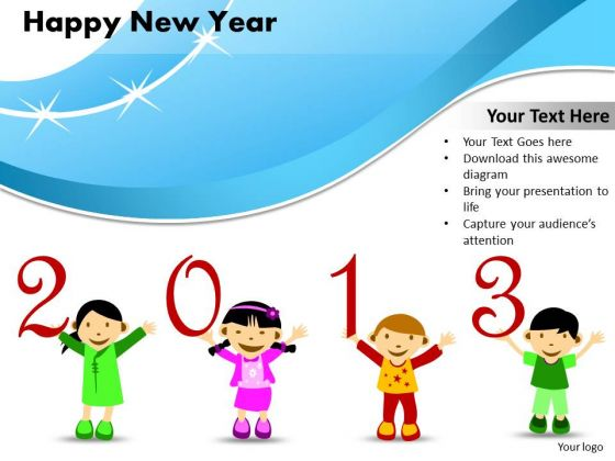 Ppt Cards And Dices Happy New Year Project Management PowerPoint Templates