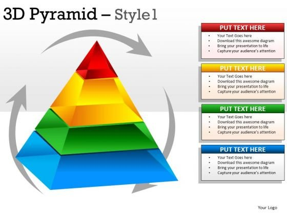 Ppt Charts 3d Pyramid 1 PowerPoint Slides And Ppt Diagrams Templates