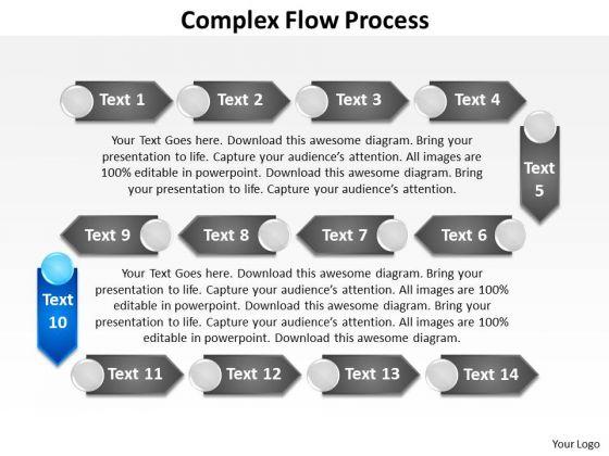 ppt circuitous flow data mining process powerpoint presentation, Data Mining Ppt Presentation Template, Presentation templates