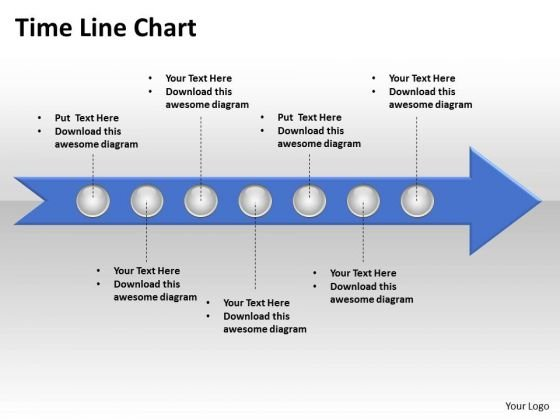 Ppt Circular Motion PowerPoint Process Time Line Chart Editable Templates
