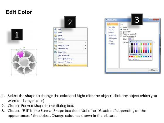 ppt circular powerpoint menu template layout 8 stage templates, Modern powerpoint
