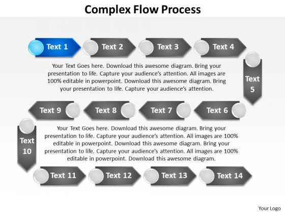 Ppt Complex Flow Business Process PowerPoint Presentation Chart Templates