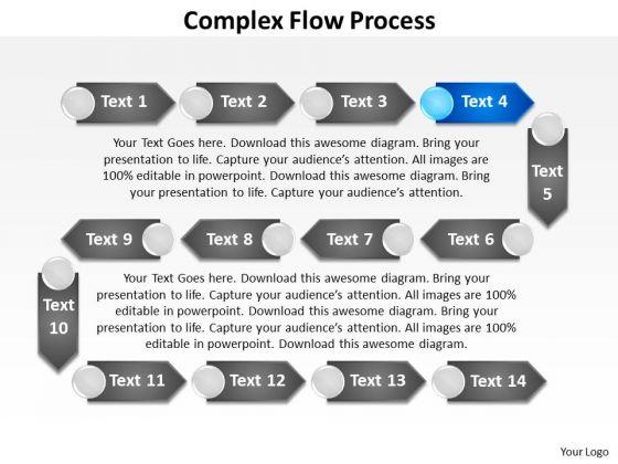 Ppt Complex Flow Process Design PowerPoint Presentation Templates