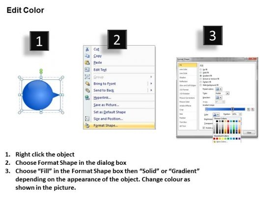 ppt_consecutive_sample_of_5_steps_through_curved_arrows_powerpoint_2010_templates_3