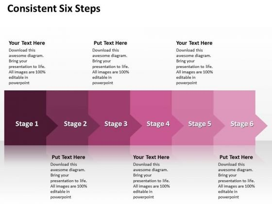 Ppt Consecutive Way To Prevent Marketing Losses Six Stages PowerPoint Templates
