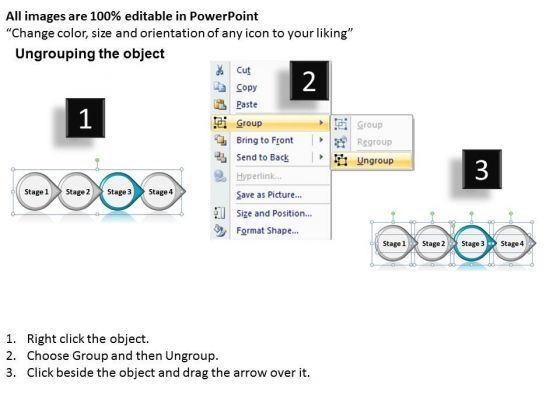 ppt_consistent_movement_of_four_state_diagram_involved_procedure_powerpoint_templates_2