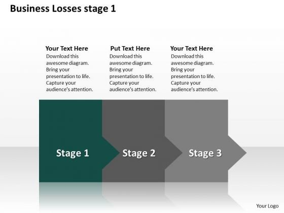 Ppt Consistent Way To Prevent Business Losses Stage 1 PowerPoint Templates