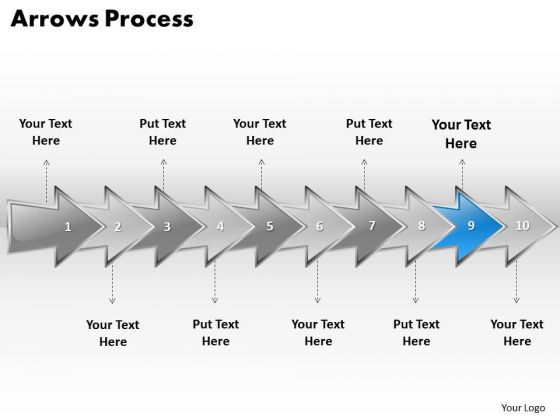 Ppt Continuous Imitation Of Business Process Using 10 Stages PowerPoint Templates