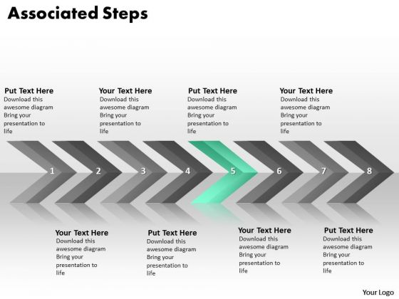 Ppt Continuous Implementation Of 8 Steps Associated Process PowerPoint Templates