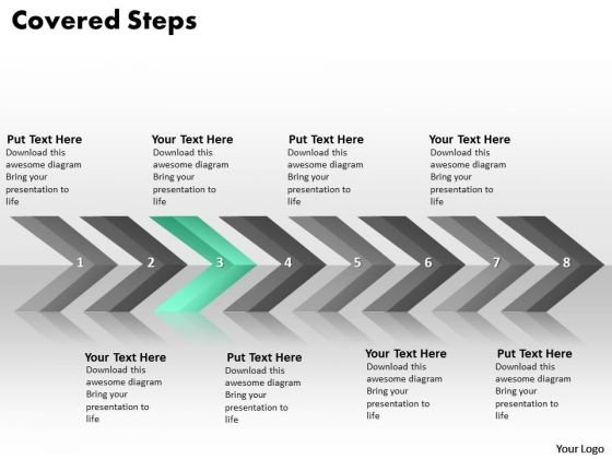Ppt Continuous Implementation Of 8 Steps Covered Process PowerPoint Templates