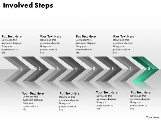 Ppt Continuous Implementation Of 8 Steps Involved Process PowerPoint Templates