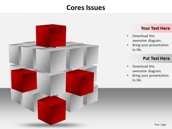 Ppt Cores Issues Of A Topic Editable Business Plan PowerPoint Templates
