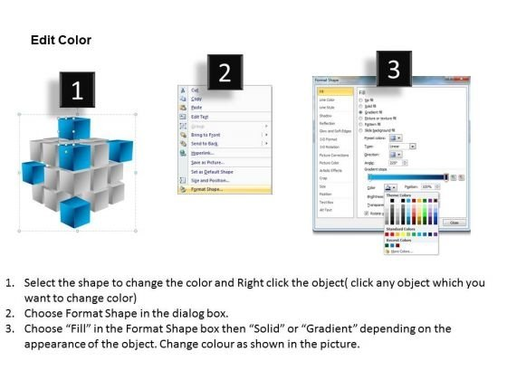 ppt_corner_pieces_of_cube_signify_important_concets_powerpoint_templates_3