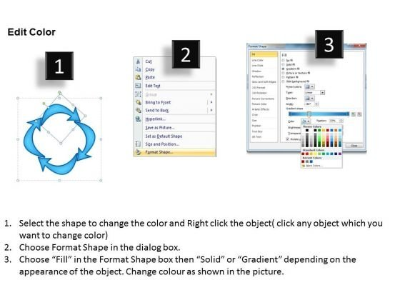 ppt_curved_arrows_pointer_inwards_powerpoint_templates_3