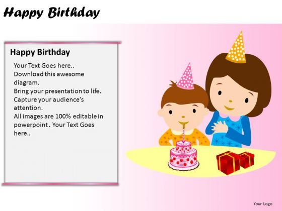ppt design leadership happy birthday ppt presentation designs