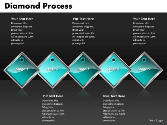 Ppt Diamond Mining Process PowerPoint Presentation 5 State Diagram Templates