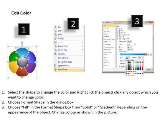 ppt_flower_petal_swim_lane_diagram_powerpoint_template_editable_maps_templates_3