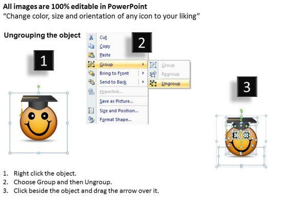 ppt_graduation_celebration_smiley_emoticon_time_management_powerpoint_business_templates_2