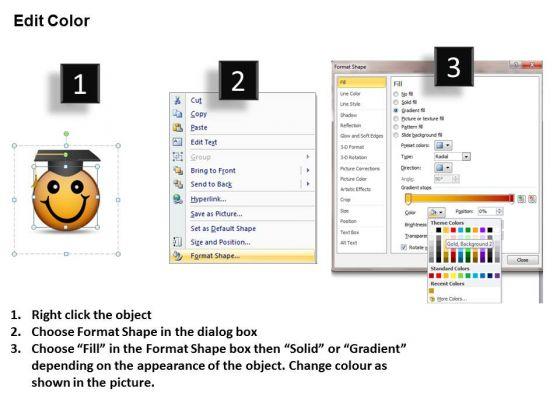 ppt_graduation_celebration_smiley_emoticon_time_management_powerpoint_business_templates_3