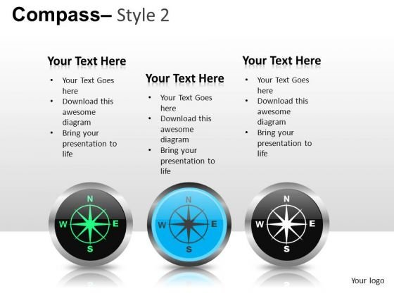 Ppt Graphics Compass PowerPoint Slides And Ppt Templates
