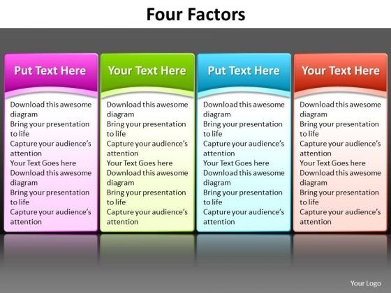 ppt_great_way_to_list_4_factors_powerpoint_templates_1