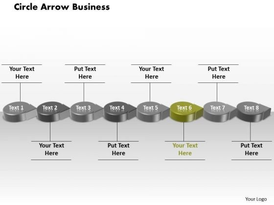 Ppt Green Circular Arrow Business Transactions Diagram PowerPoint Free Templates