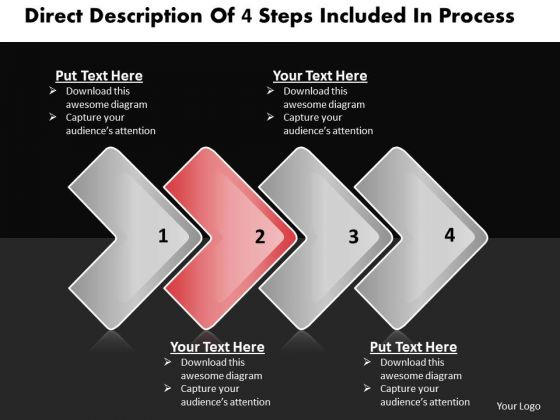 Ppt Horizontal PowerPoint Slide Numbers Included Process 3 Business Templates
