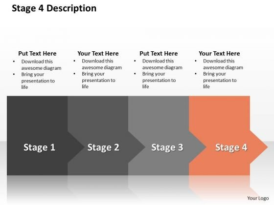 Ppt Horizontal Way To Block Development Losses Stage 4 PowerPoint Templates