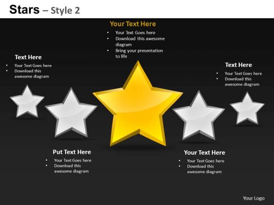 Ppt Image Stars PowerPoint Slides And Ppt Diagrams