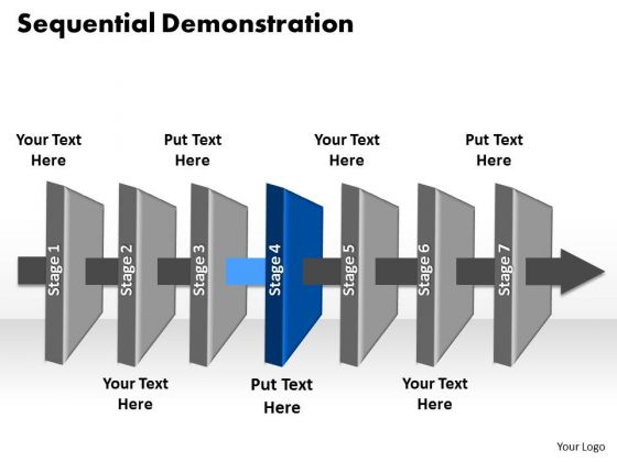 Ppt Layer 4 Manufacturing Linear Communication Process PowerPoint Presentation Templates