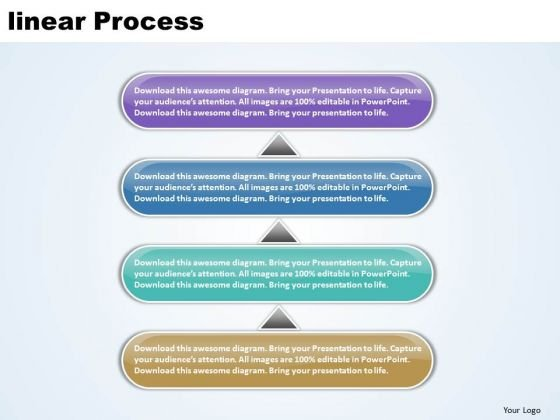 Ppt Linear Diamond Mining Process PowerPoint Presentation 4 State Diagram Templates