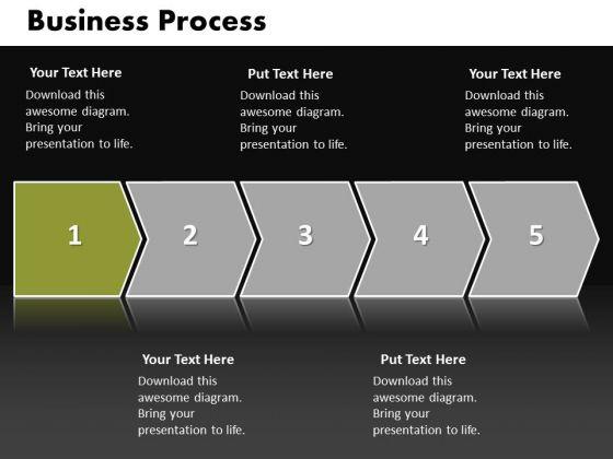 Ppt Linear Flow World Business Sample Presentation PowerPoint ...