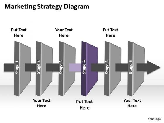 Ppt Linear Forging Process PowerPoint Slides Marketing Startegy Chart Templates