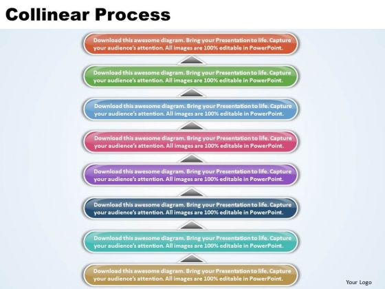 Ppt Linear Process 8 State PowerPoint Template Diagram Templates