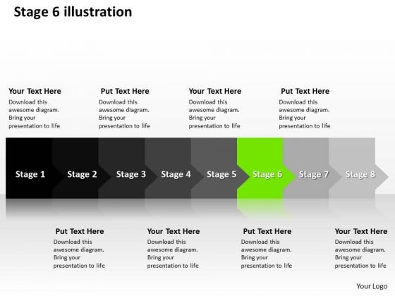 ppt_linear_way_to_avoid_production_losses_eight_steps_stage_6_powerpoint_templates_1