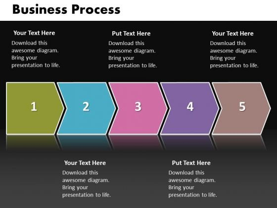 ppt linear work flow chart powerpoint business theme process, Powerpoint templates