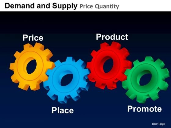 Ppt Marketing 4ps Price Product Place Promotion PowerPoint Slides