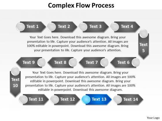Ppt Multifarious Flow Process PowerPoint Presentation Templates
